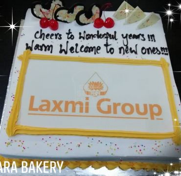 White Forest Corporate Welcome Cake OC100