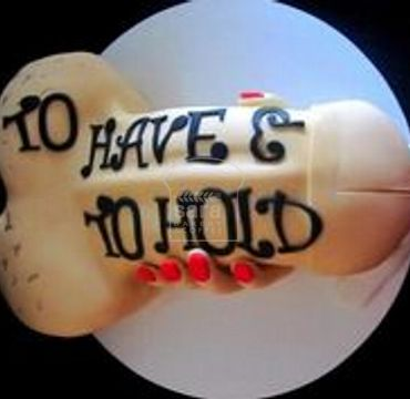 Have and Hold Bachelorette Cake BC106
