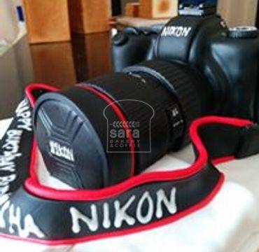 Camera Theme Fondant Cake HM140