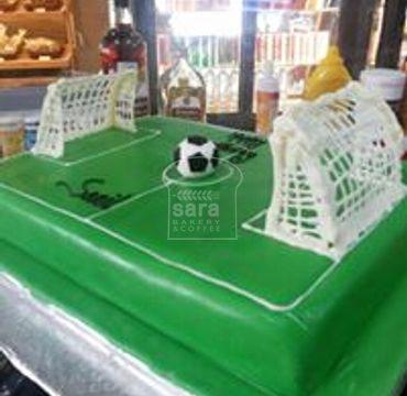 Football Ground Theme Cake SP115