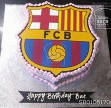FCB Logo Printed Cake SP110