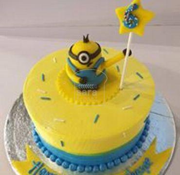 Minion Theme Cake HM284