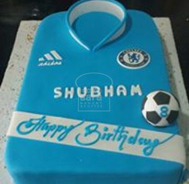 Chelsea Jersey Theme with football on top SP113