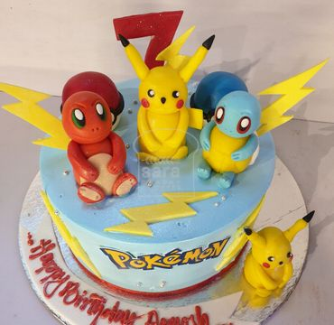 Pikachu Theme Cake HM294