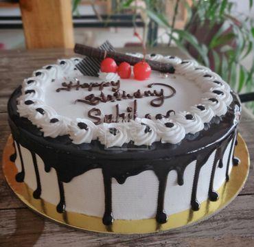 Chocolate Vanilla Cake RG102
