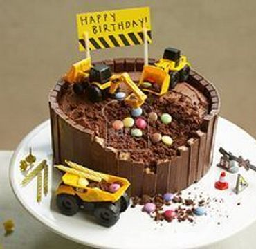 Engineer Cake with Excavator ER106