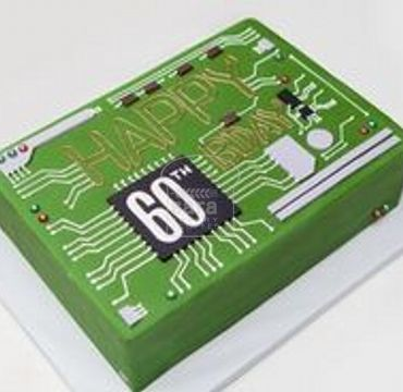 Circuit Board Cake for Electronic Engineer ER128