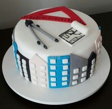 Cake for Engineer with Tools  ER107