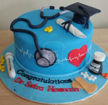 Fondant Cake for Medical Doctor MD109