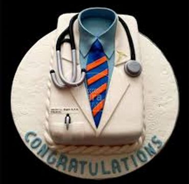 Fondant Cake for Medical Doctor MD110