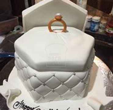 Rind Box Engagement Cake EA144