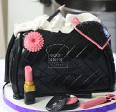 Lady Hand Bag Cake HR182