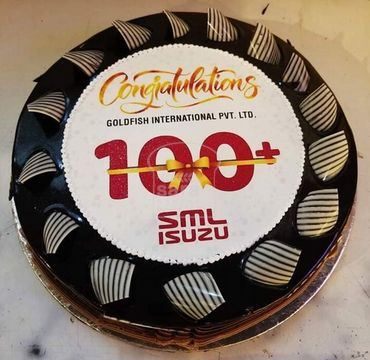 Chocolate Cake 100+ ISUZU Celebrations OC109