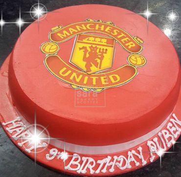 Manchester Photo Print Cake SP123