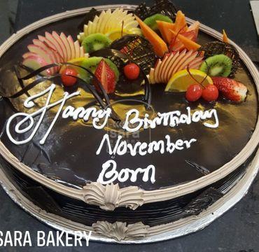 November Born Cake OC114