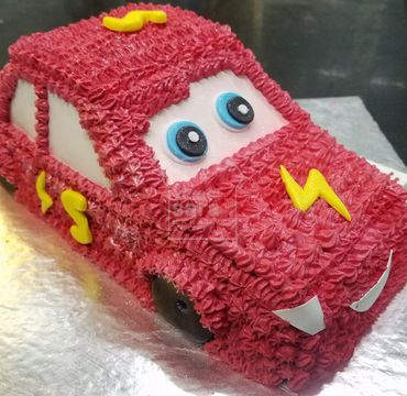 Red McQueen Car Cake HM299