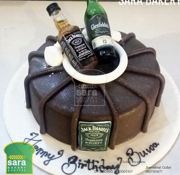 Chocolate Cake with JD HM300