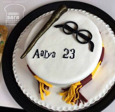 Harry Potter Theme Cake HM302