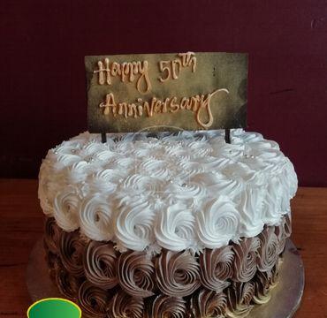 Anniversary Chocolate Cake EA153