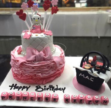 Hello Kitty with Bag Cake HR203