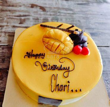 Seasonal Mango Masti Cake RG132